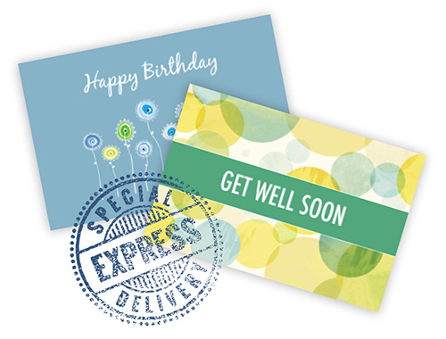 Send a greeting cards
