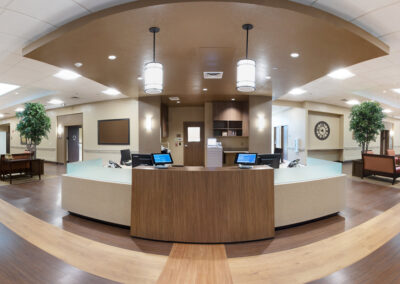 Lobby with waiting area