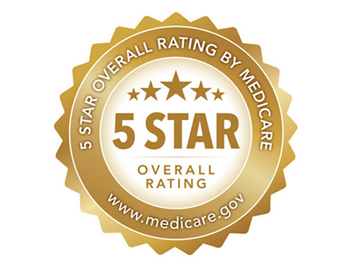 5-Star Overall Rating by Medicare.gov