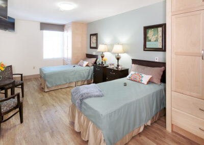 Private room with double beds