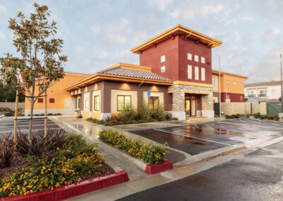 Front of Newport Beach Memory Care building