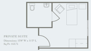 private suite floor plan