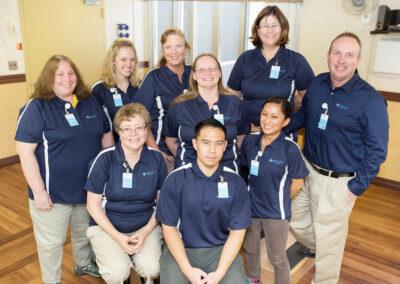 Midtown Oaks rehab staff team