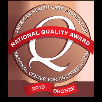 2019 AHCA Bronze Award