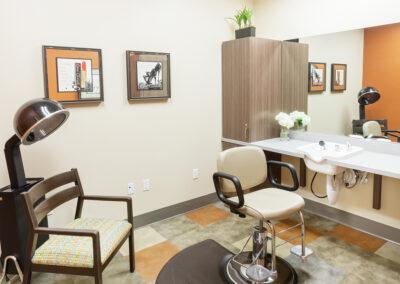 Resident beauty salon.
