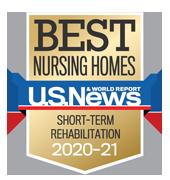 US News Best Short Term Rehab award 2020-21