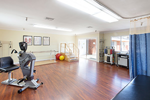 University Care Center rehab gym