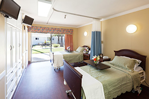 University Care Center semi-private room